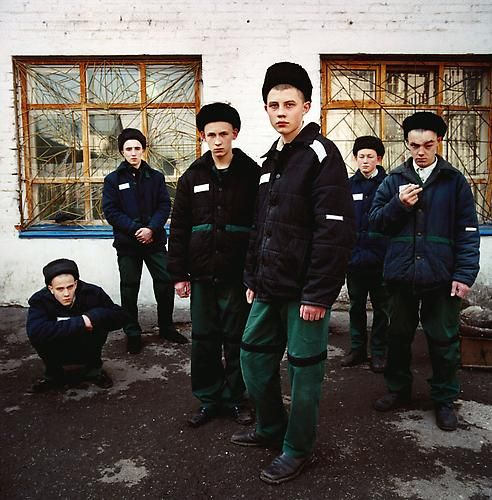 Michal Chelbin, Young Prisoners, Juvenile Prison, Russia, 2009