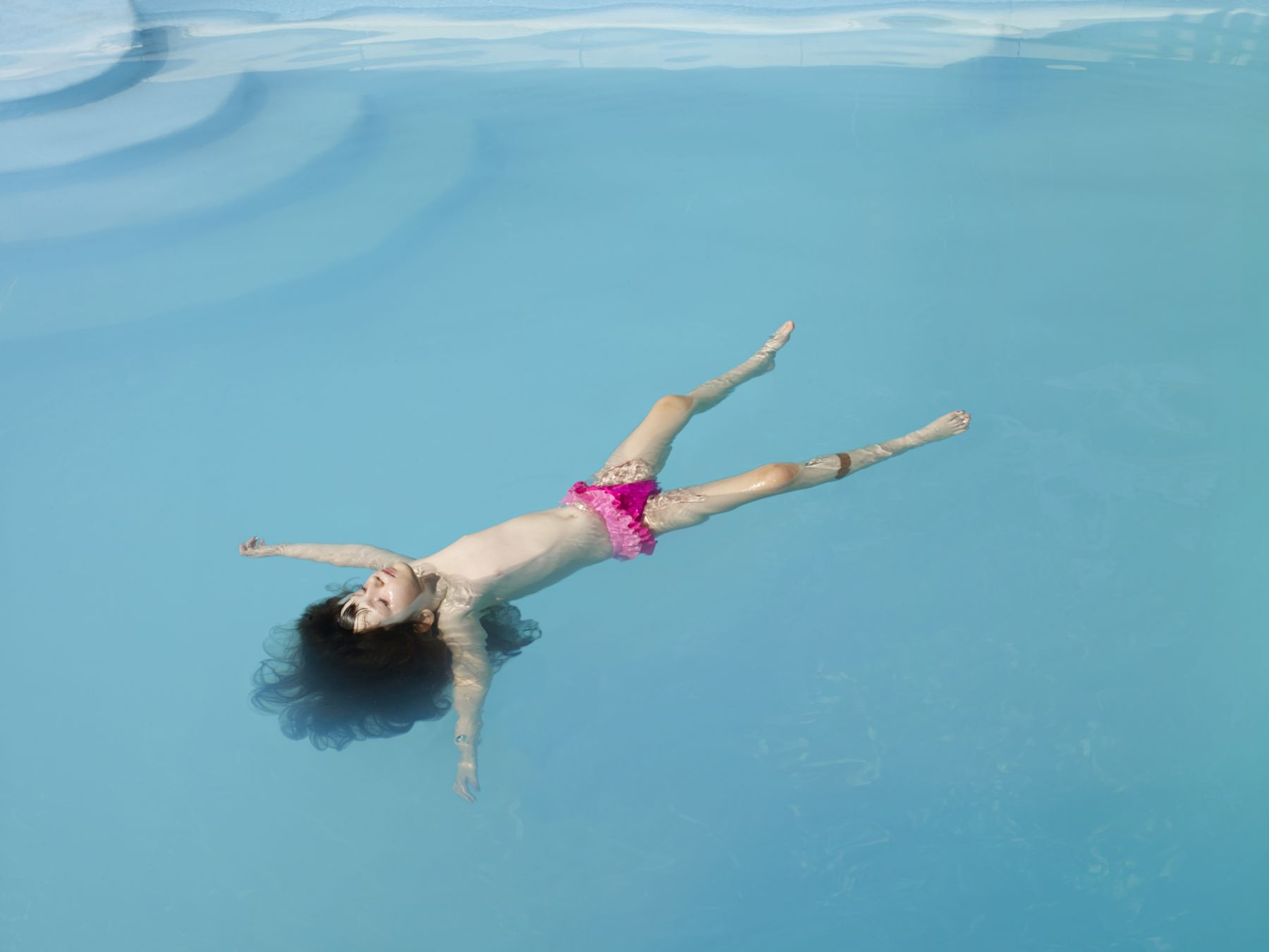 ANGELA STRASSHEIM Untitled (Jessica Floating), 2013
