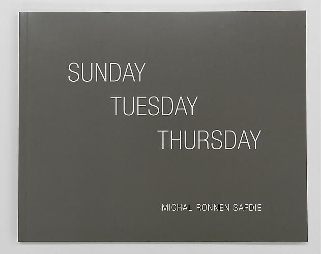 MICHAL RONNEN SAFDIE, Sunday Tuesday Thursday, $20