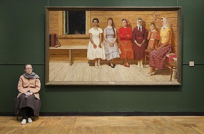 Andy Freeberg, Kugach's Before the Dance, State Tretyakov Museum, 2009