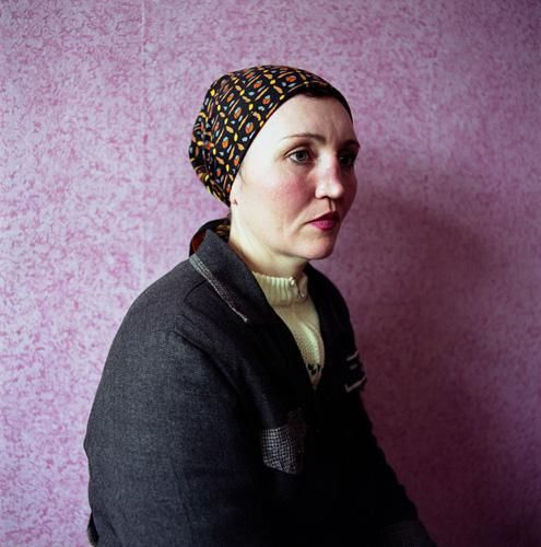 MICHAL CHELBIN, Ira, Sentenced for Theft, Women's Prison, Ukraine, 2009