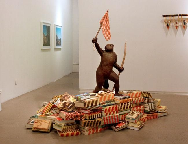 Dam Lines Installation at Andrea Meislin Gallery
