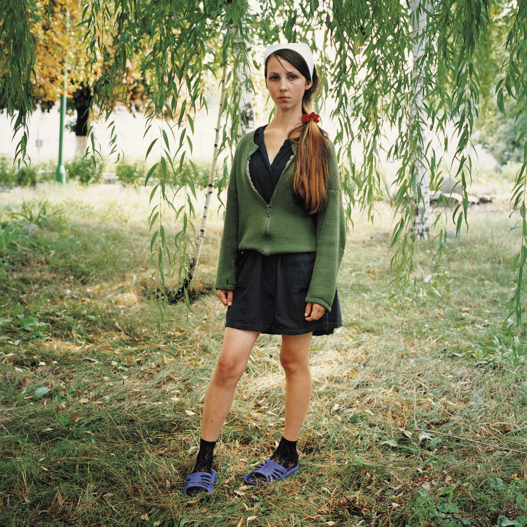 MICHAL CHELBIN, Yana, Sentenced for Theft, Girl's Prison, Ukraine, 2009