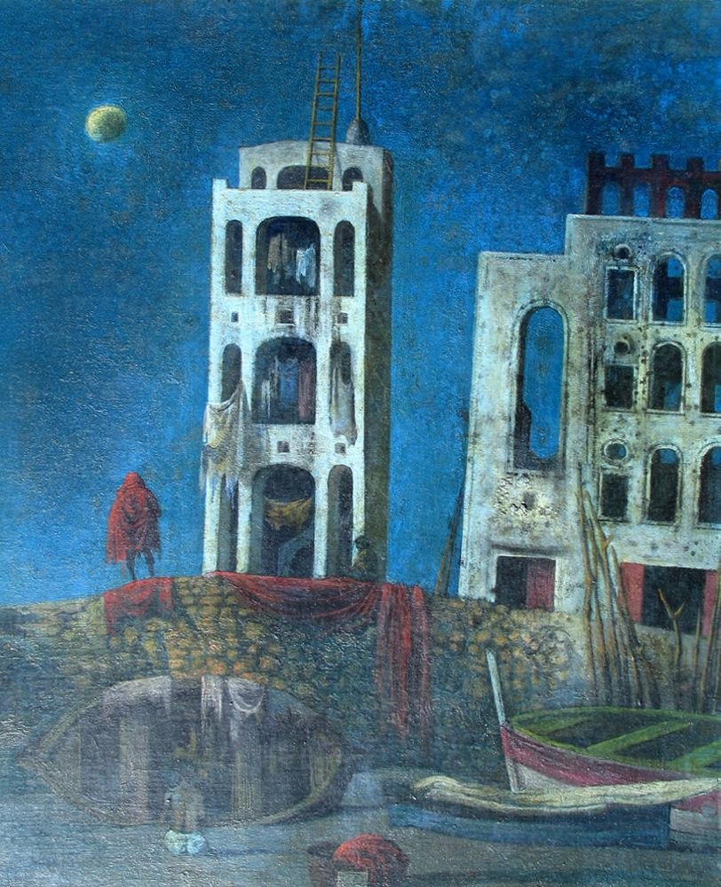 Eugene Berman, Procida Nocturne