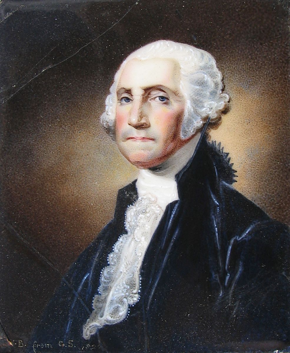 William Birch, George Washington