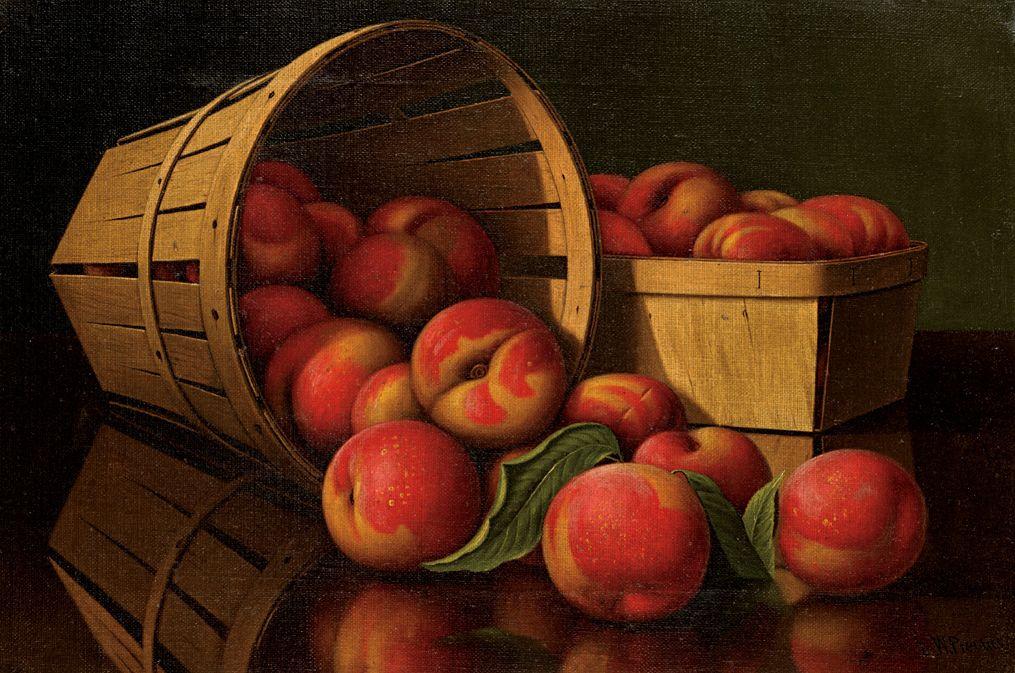 Levi Wells Prentice, Basket of Peaches