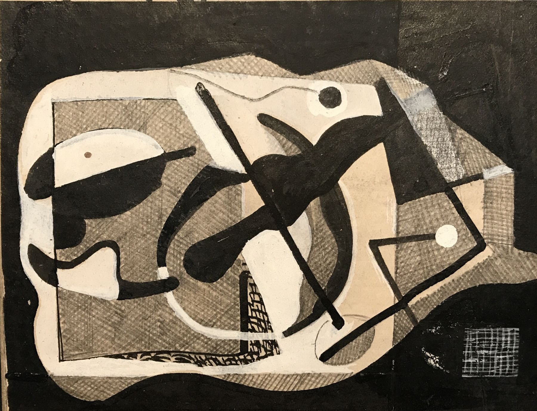 Vaclav Vytlacil, Untitled Abstraction 015