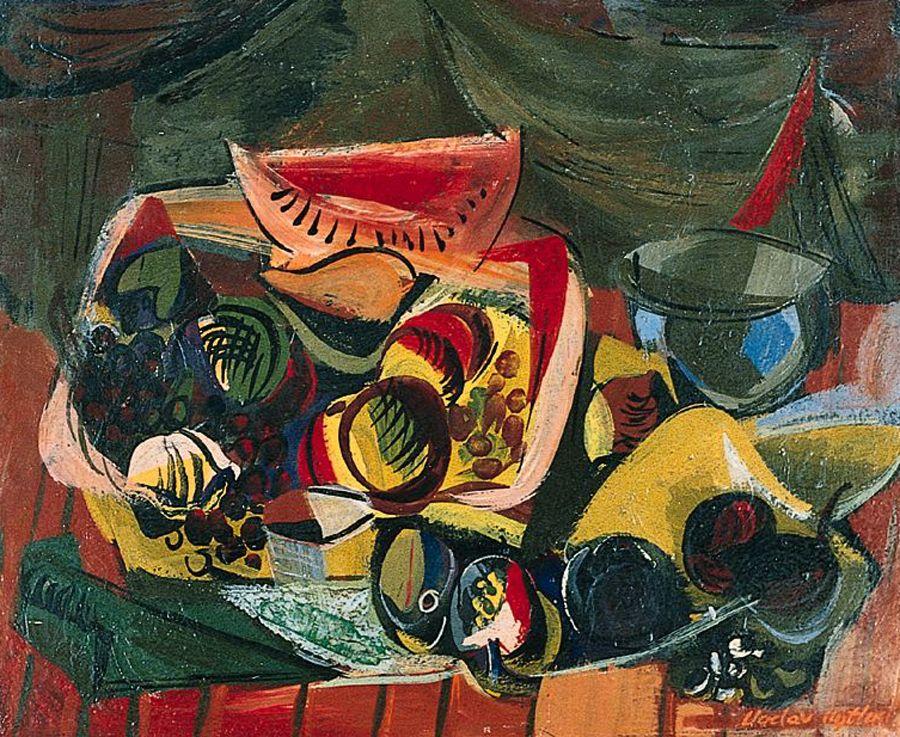 Vaclav Vytlacil, Still Life with Melons