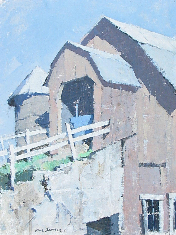 Paul Sample, New England Barn