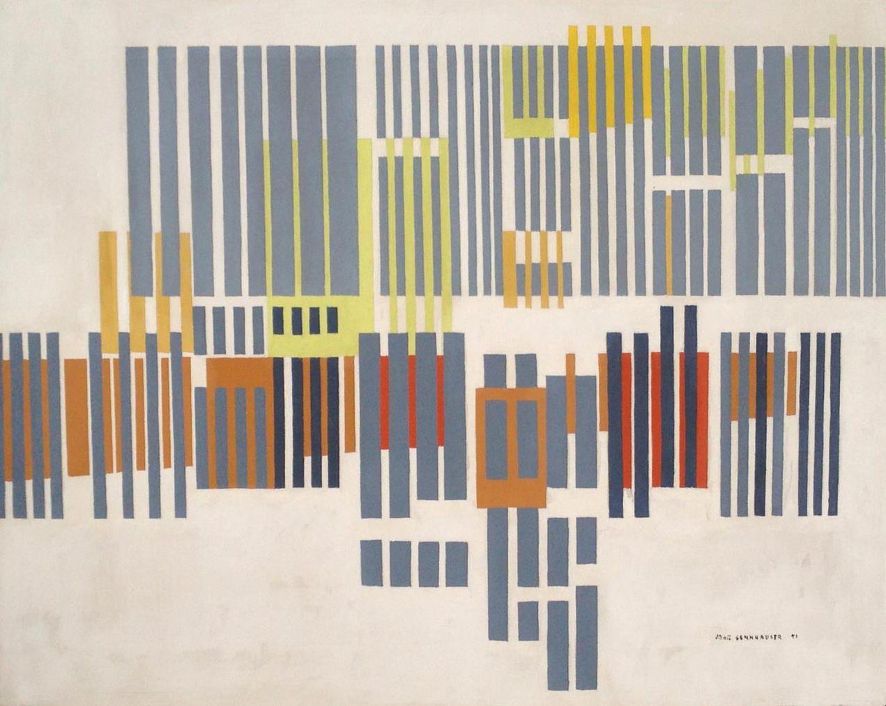 John Sennhauser, Synchroformic No 23, Sold Archive
