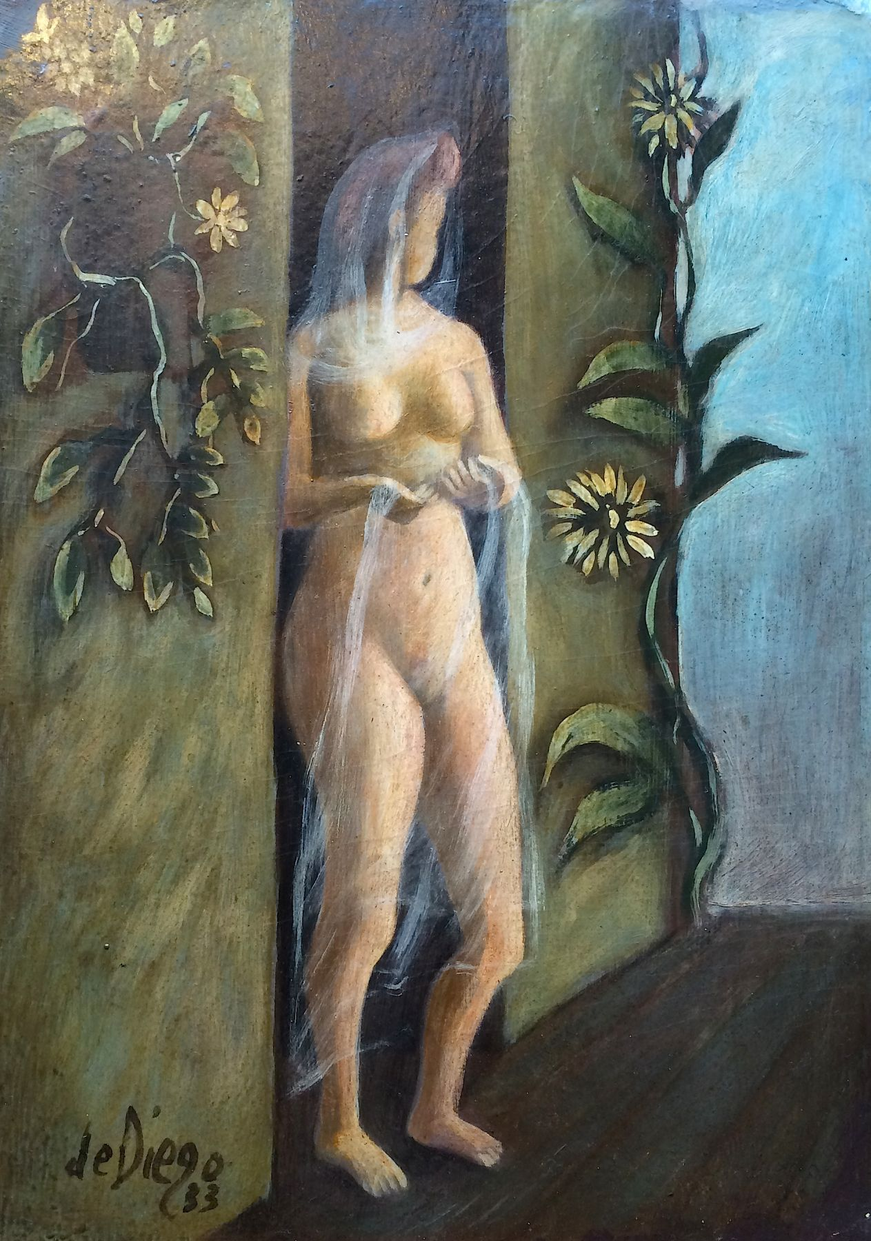 Julio De Diego, Girl in Doorway