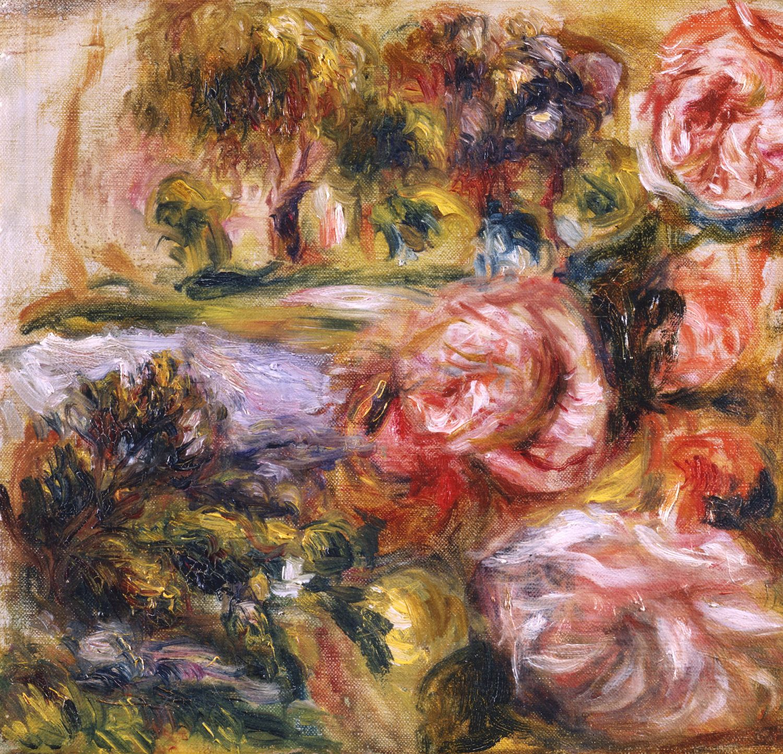 Pierre Auguste Renoir, Etude de Roses