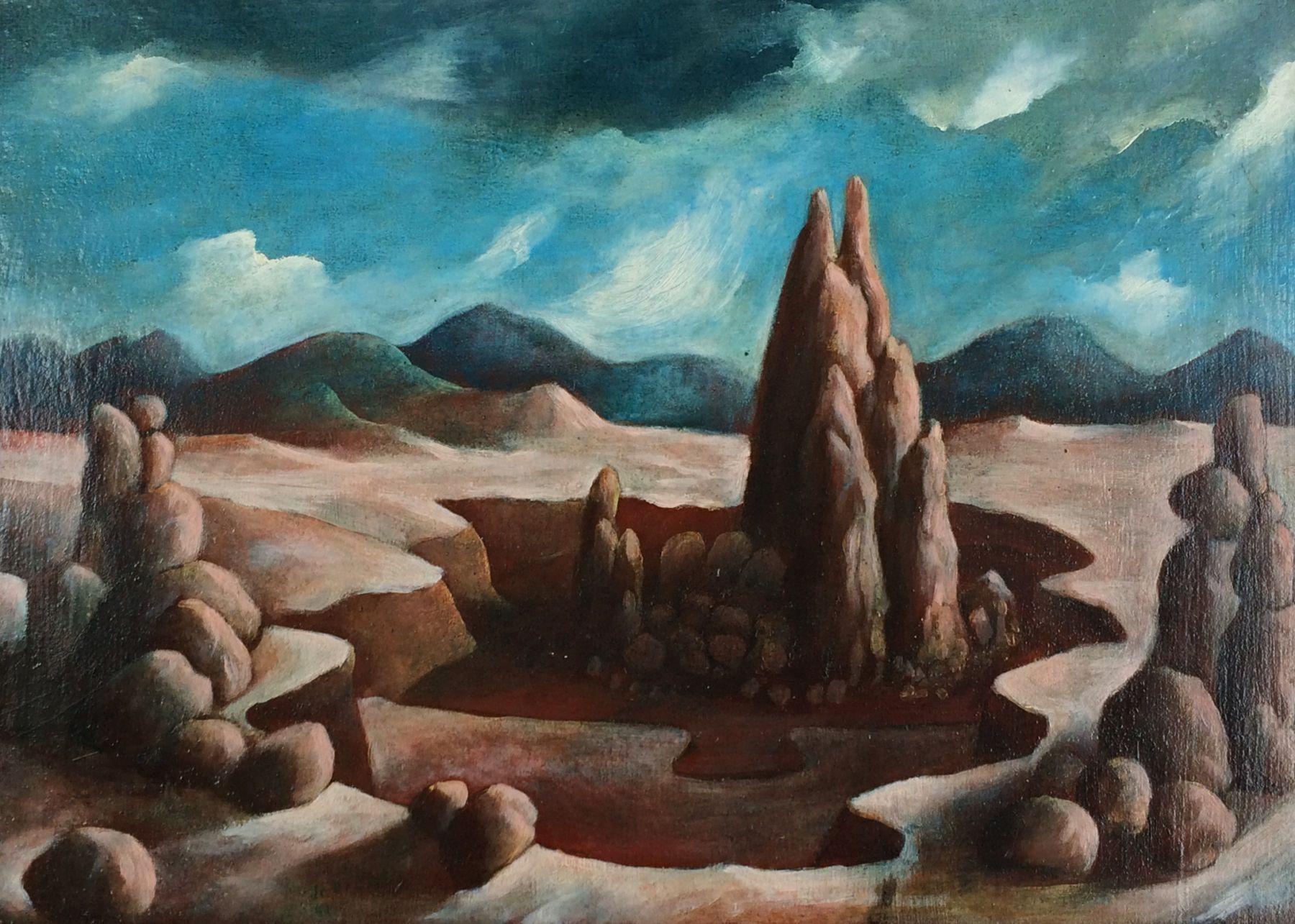 Julio De Diego, Rock Formations