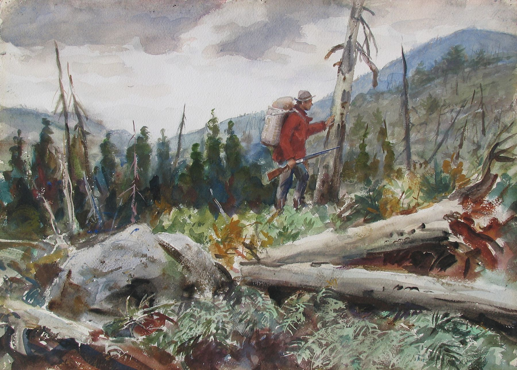 John Whorf, Bear Country