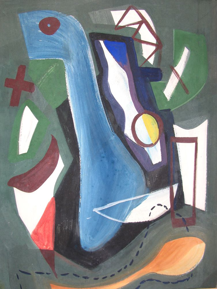 Vaclav Vytlacil, Untitled Abstraction