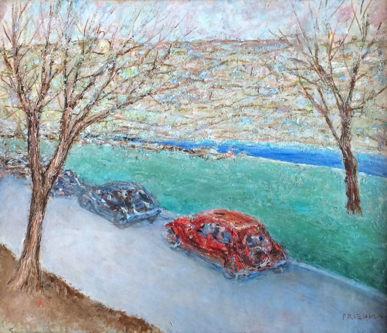 Arnold Friedman, Autumn Day Drive