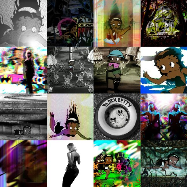 FORREST ALLREAD_Boris & Betty (Video Quilt)_ACADEMY 2011
