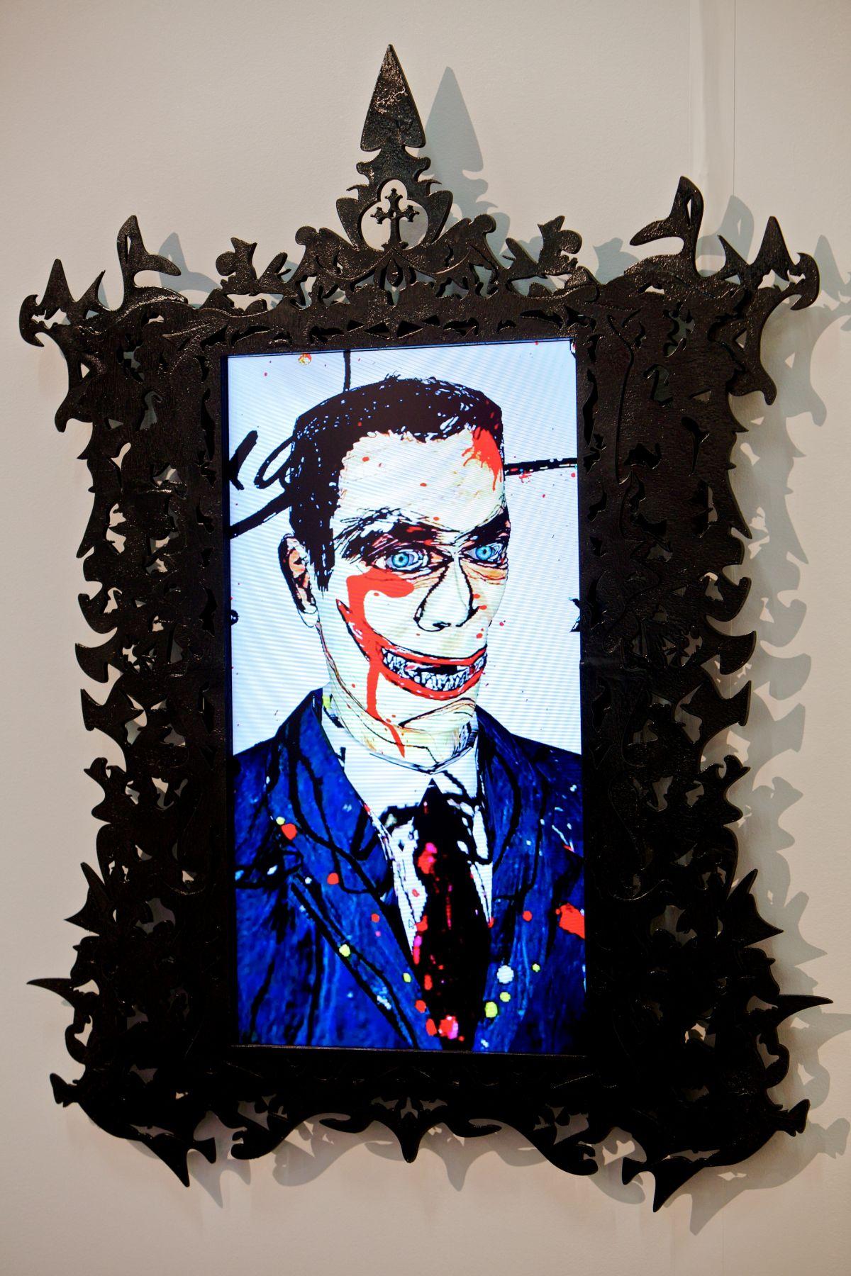 FEDERICO SOLMI_Dick Richman, Portrait of a Scam Artist_Art Brussels 29