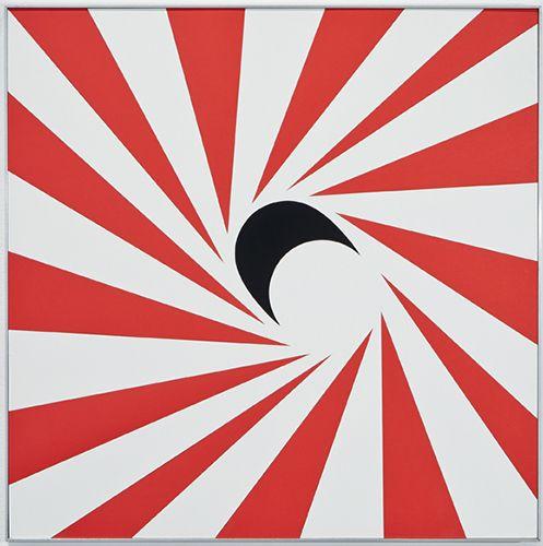 Geraldo de Barros Movimento em torno de uma Oval e um Circulo