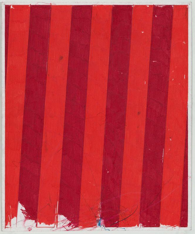 Punk & Faggotry (Crimson & Poppy Stripes), 2015