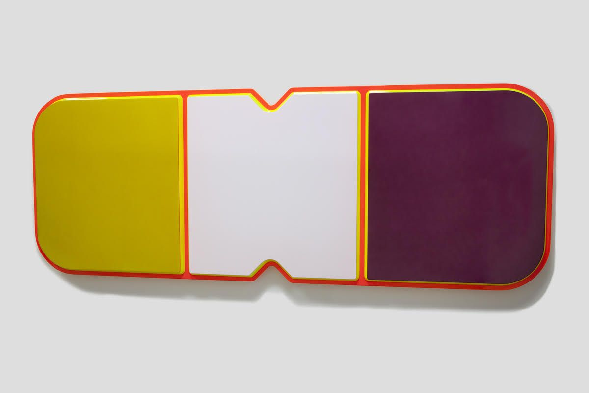 Untitled, 2014, Urethane paint on mdf