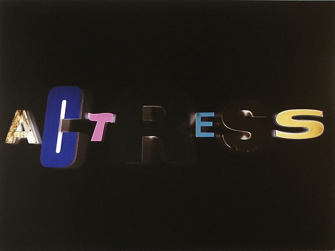 Actress, 2000 C-print