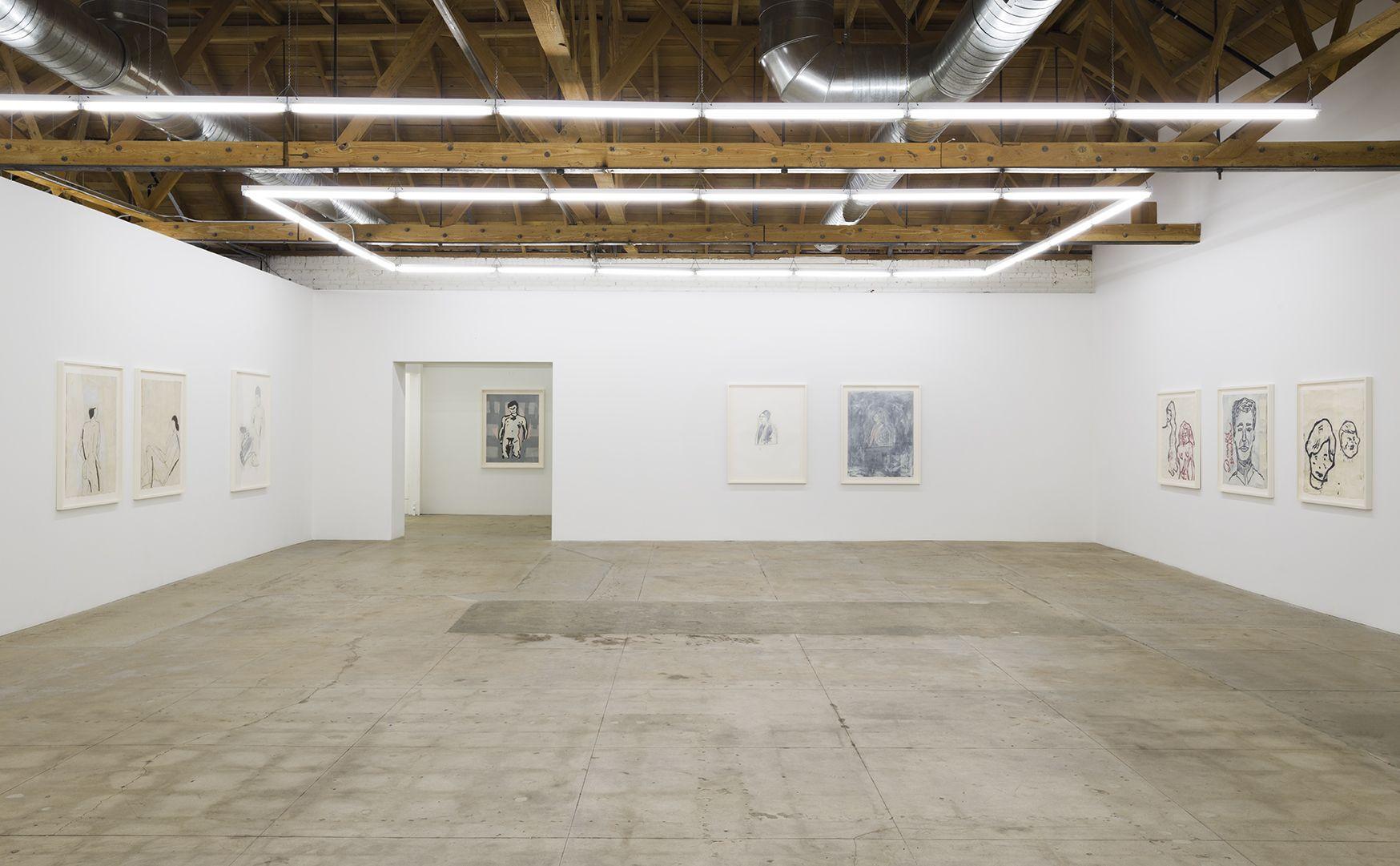 Installation of Donald BaechlerEarly Work 1980 - 1984