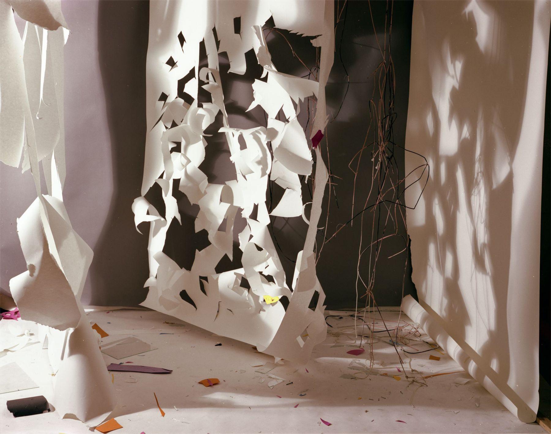 "No. 167, ""Torn White Shadows Over Grey"", 1981/2012"
