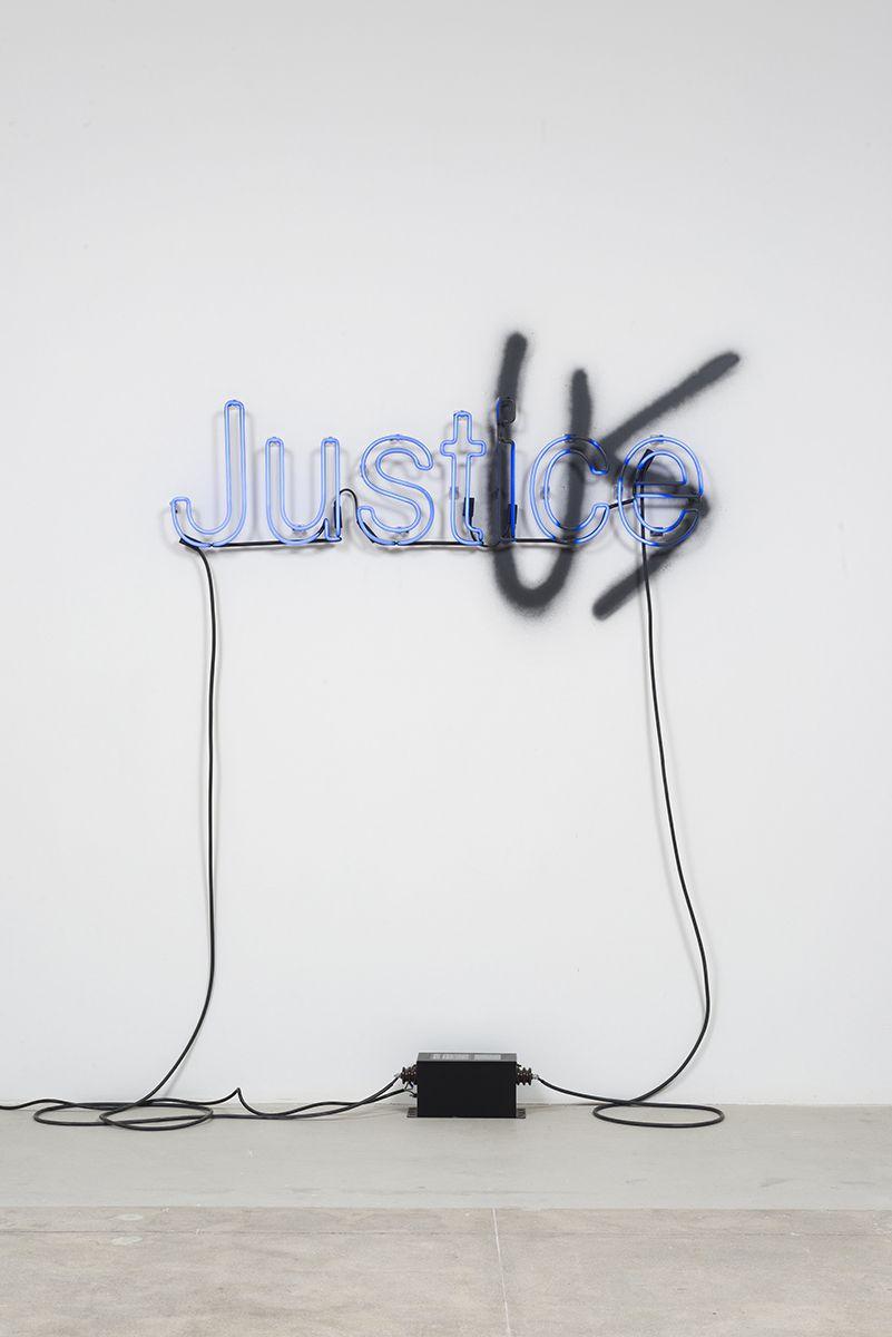 Aaron Sandnes, Interest of the Strong (Thrasymachus) - BLUE, 2014