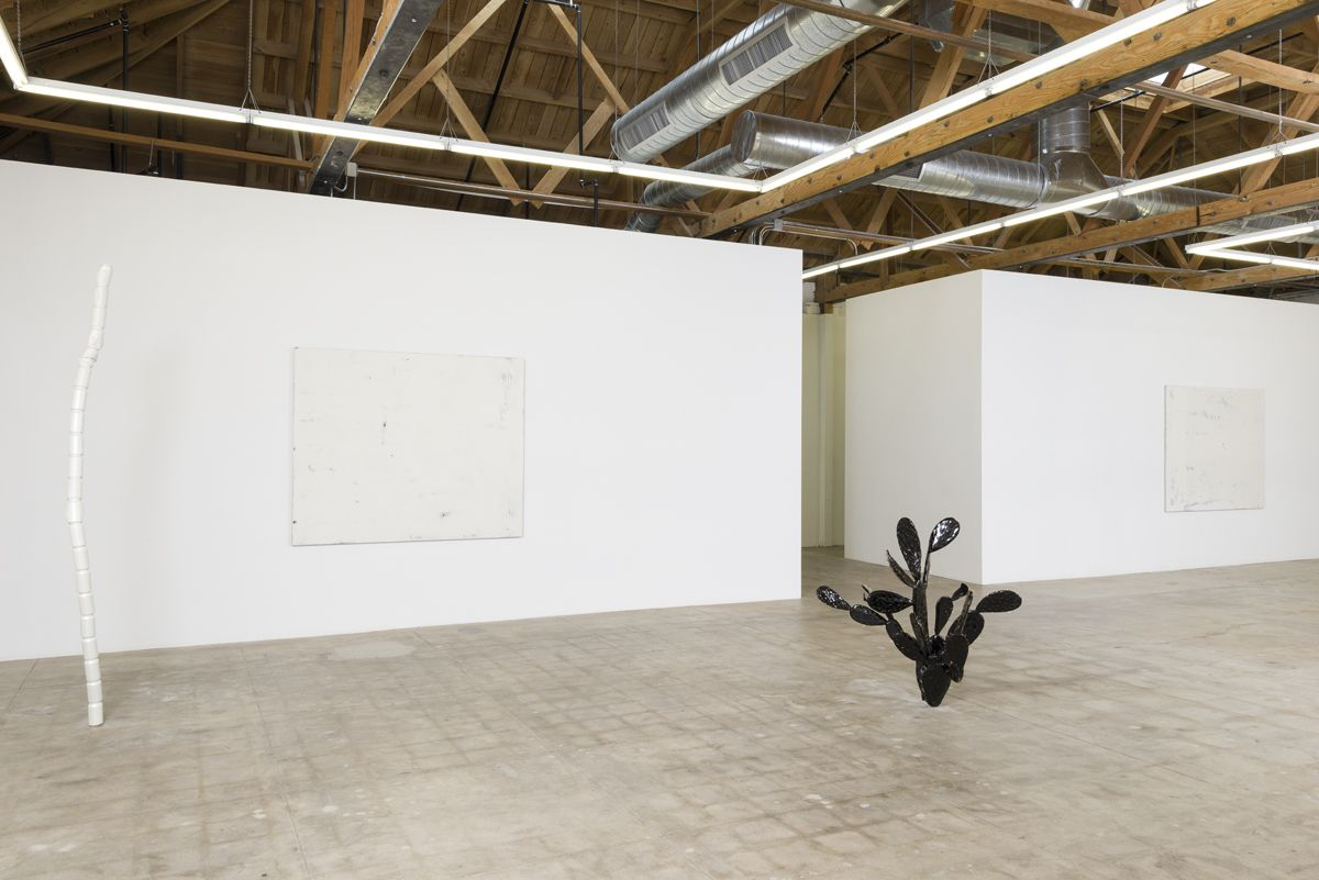 "Installation view of Vincent Szarek ""Like A Rock"""