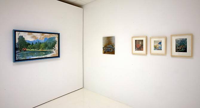 """Installation View """"Modern Nature"""""""