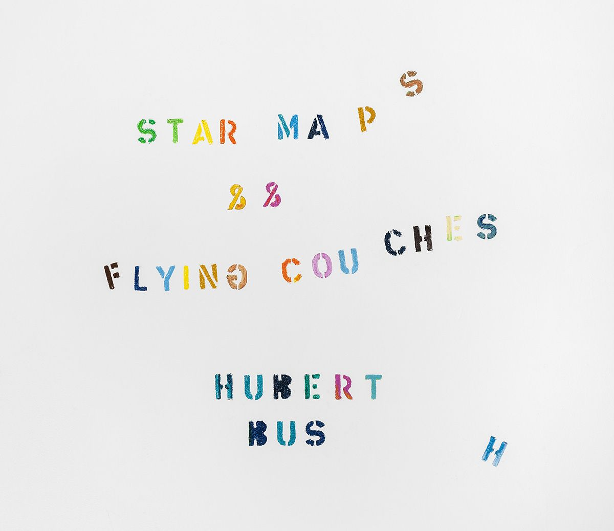 """Hubert Bush """"Star Maps and Flying Couches"""""""