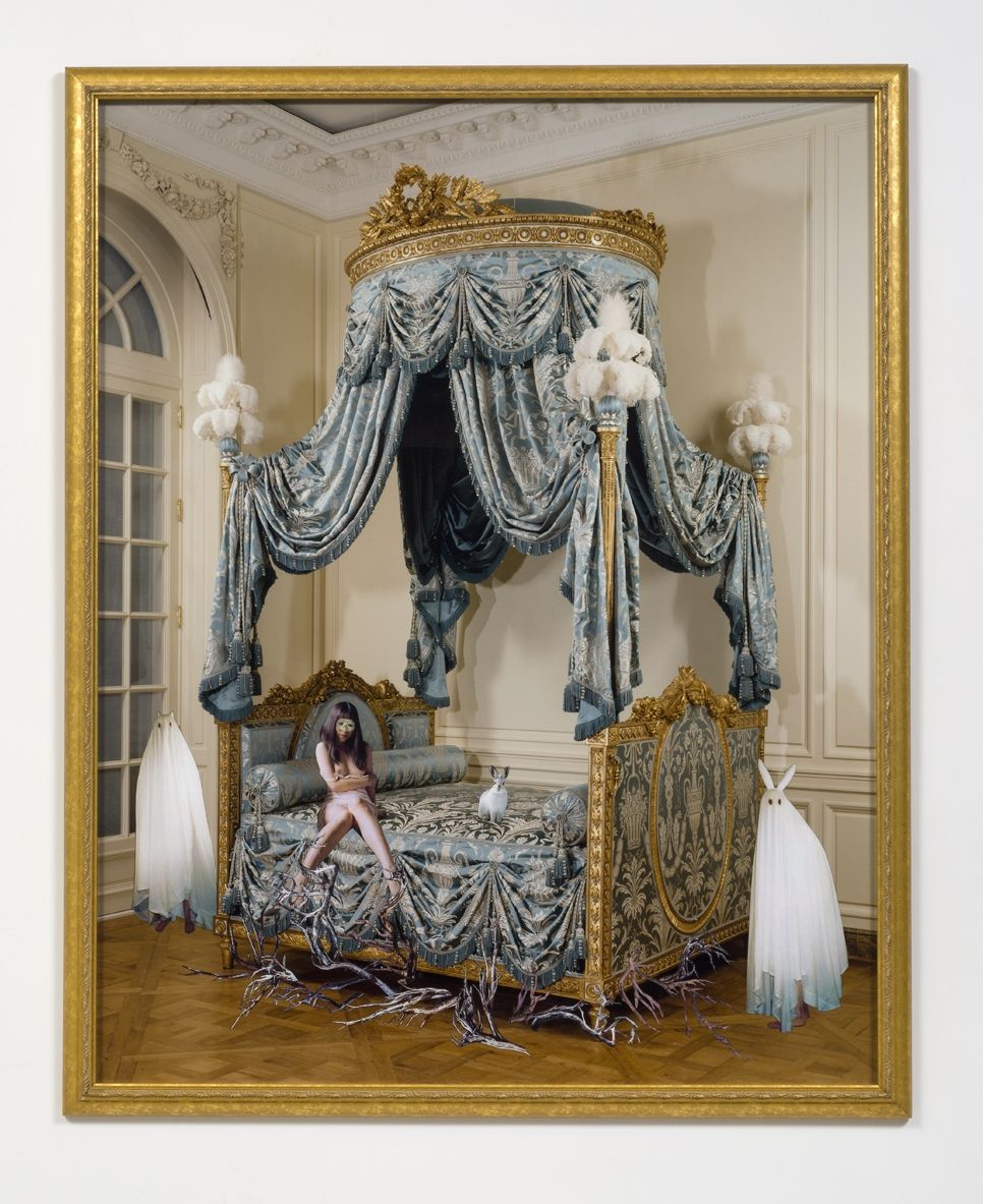 Ghost Dream, 2001-2005, Collage on light jet print