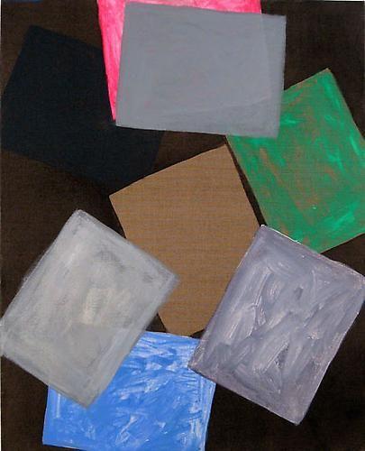 Paper at Night (pink), 2008