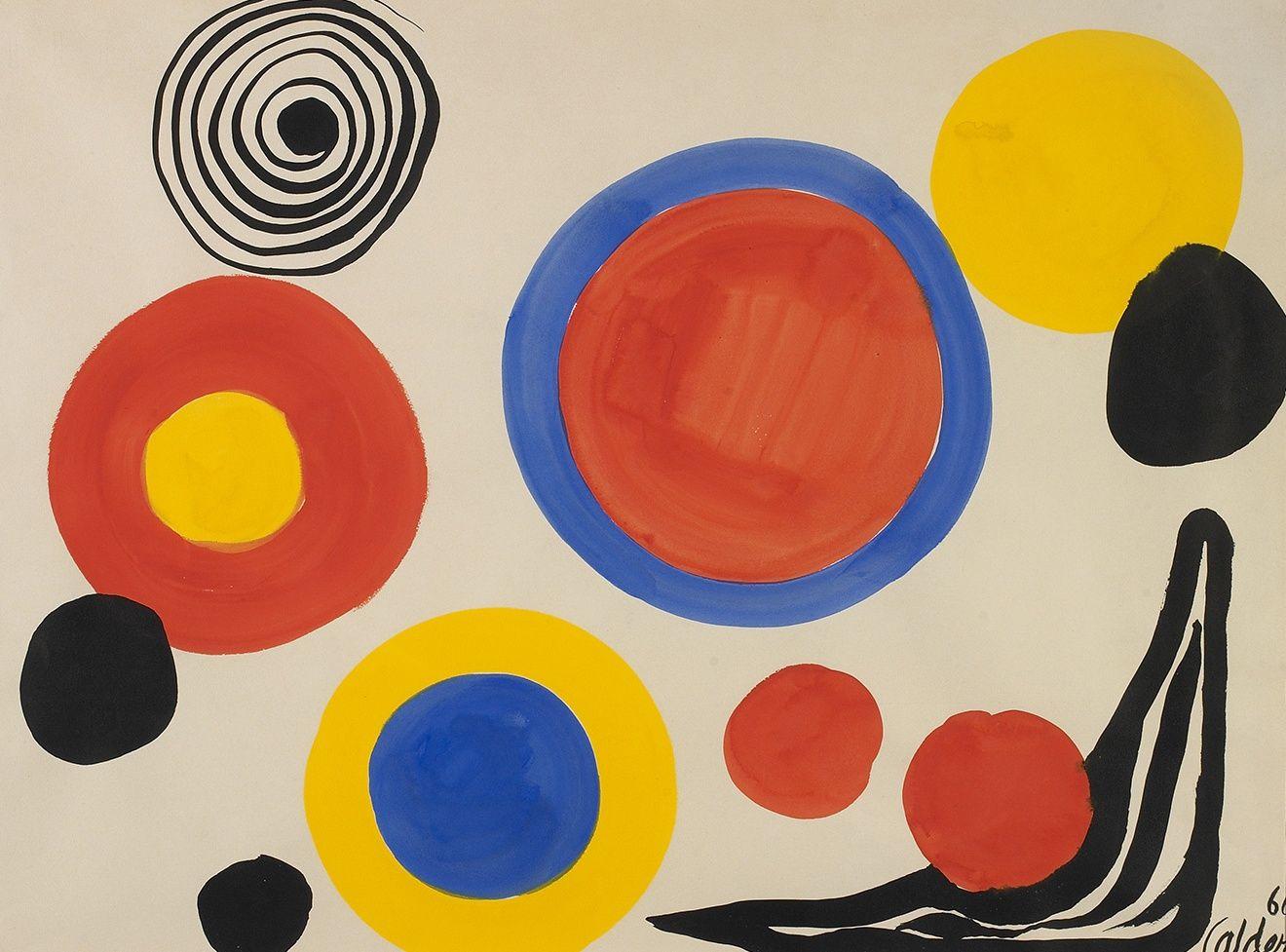 Alexander Calder - Circles