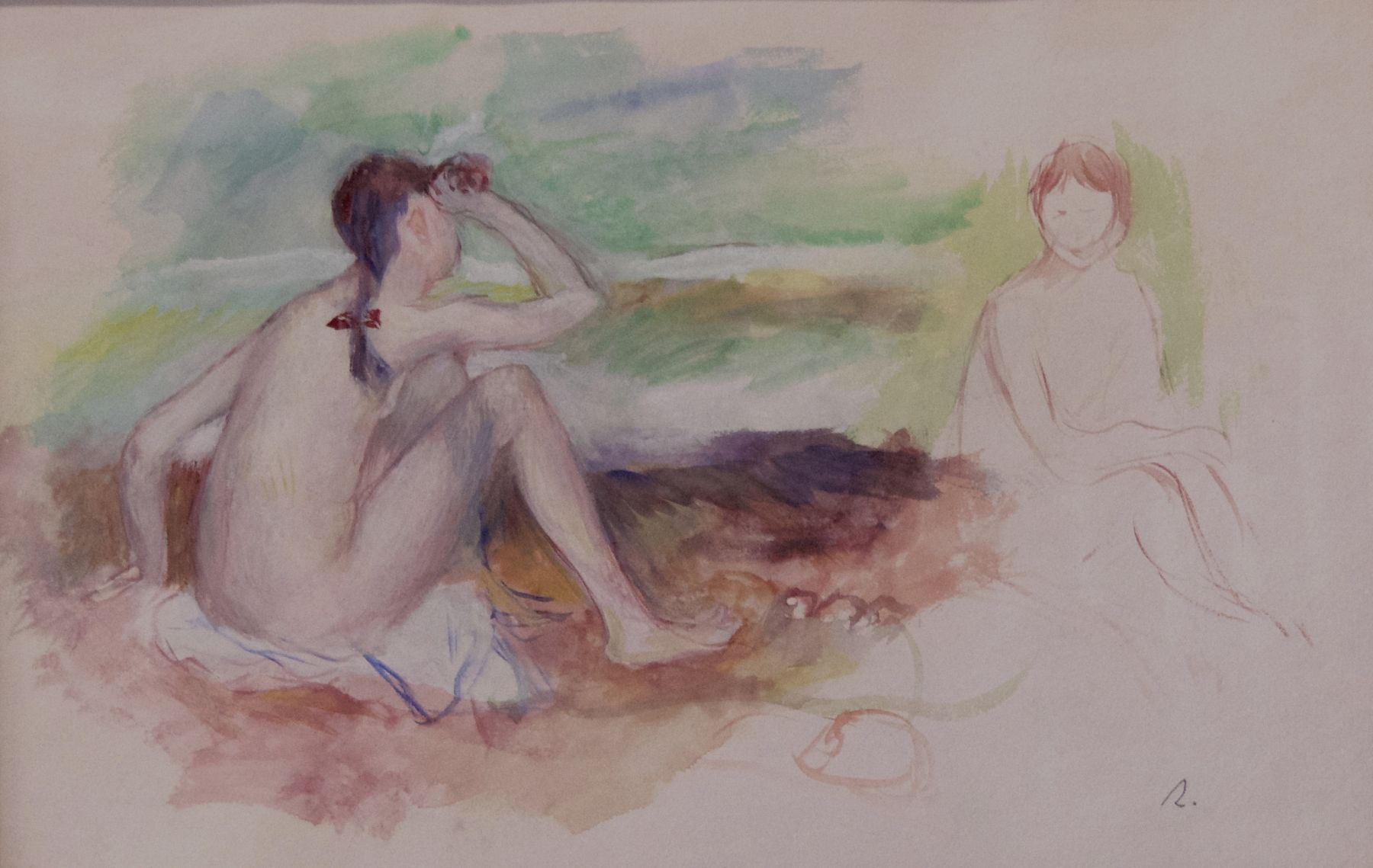 Pierre Auguste Renoir - Baigneuses