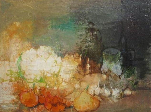 Jean Jansem Still Life Oil on canvas