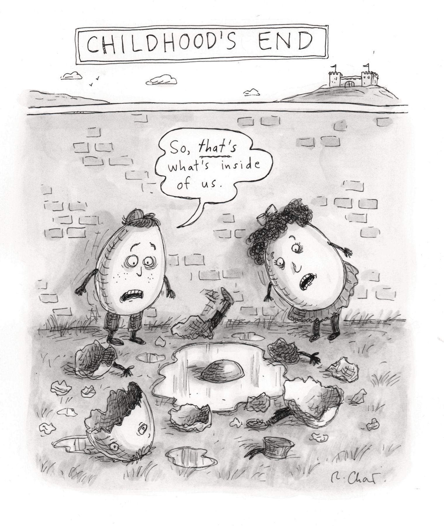 Roz Chast, Childhood's End, published May 5, 2014