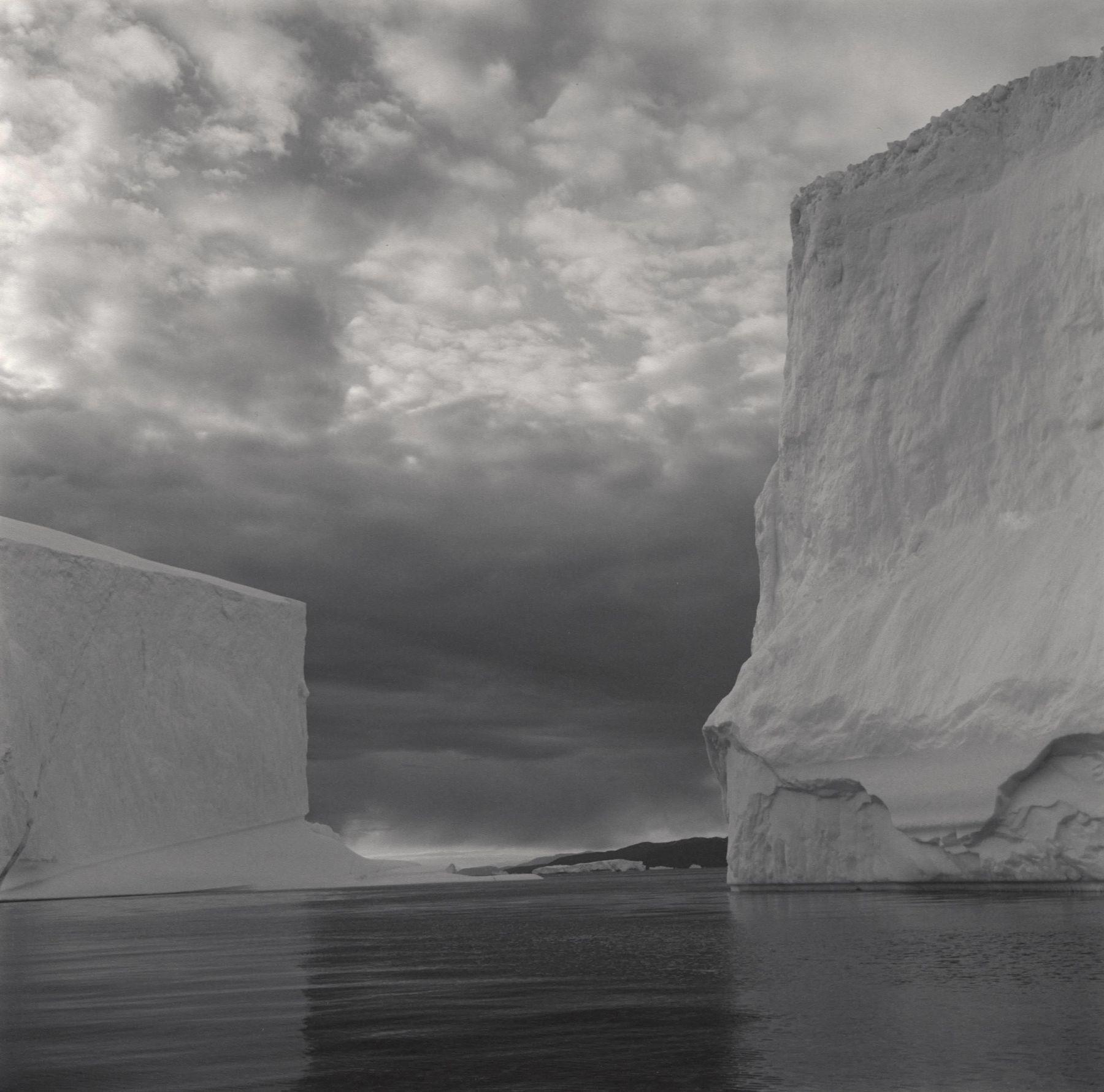 Lynn Davis, Iceberg #23, Disko Bay, Greenland, 2000, Gelatin silver print, 40 x 40 inches