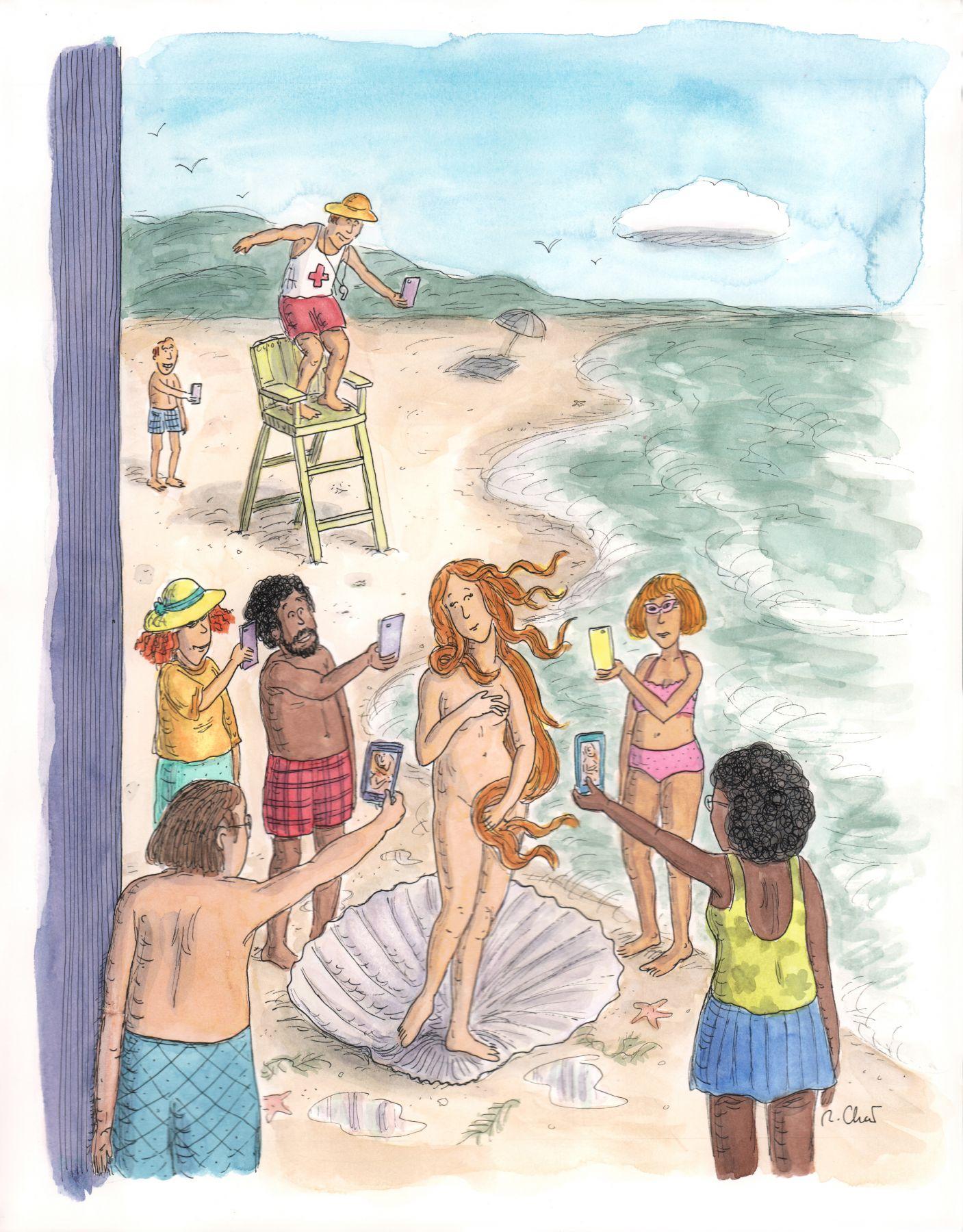 Roz Chast, Venus di Milo Cover, published Aug. 4, 2014