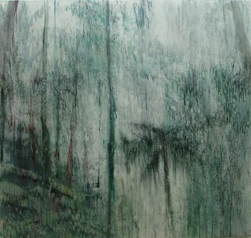 Black Spur, 2011,oil on canvas,59 x 63 inches (150 x 160.0 cm)