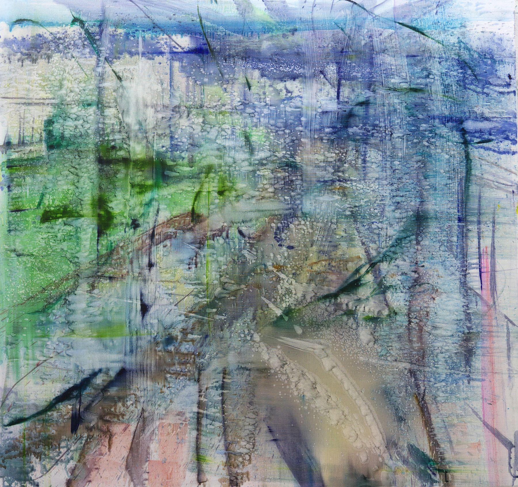 Matthias Meyer, Water Painting, 2017