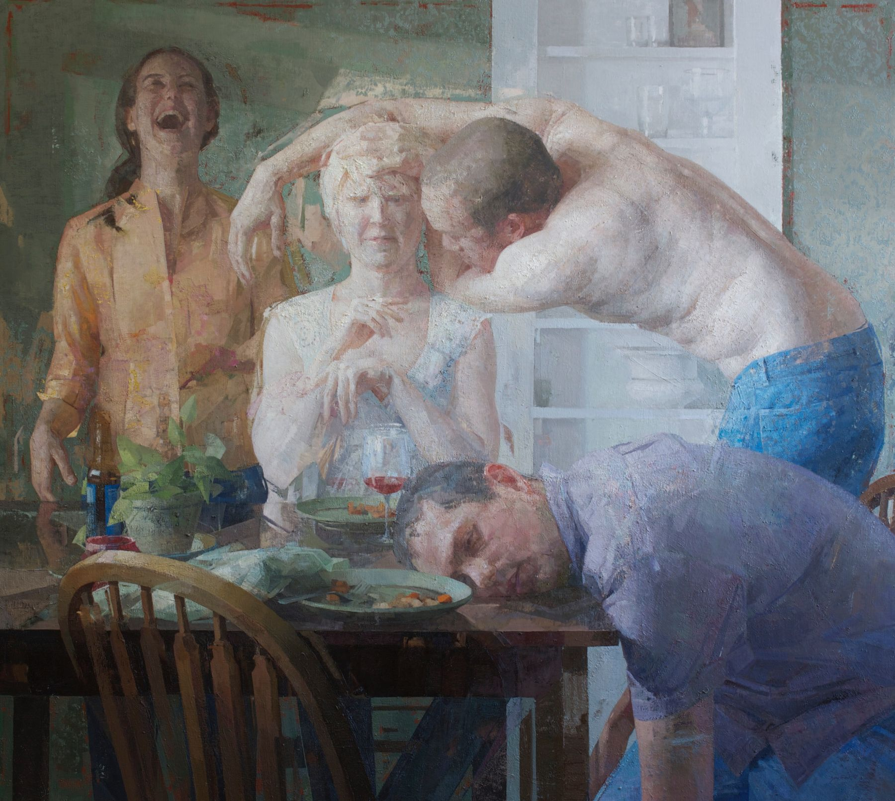 Zoey Frank, Dinner Party, 2017