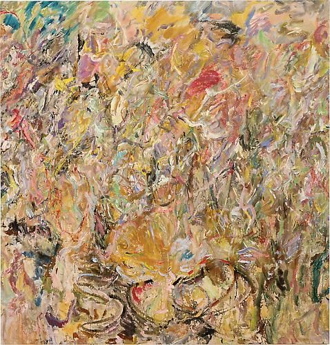 Larry Poons Sweet Mountain Cat, 2013