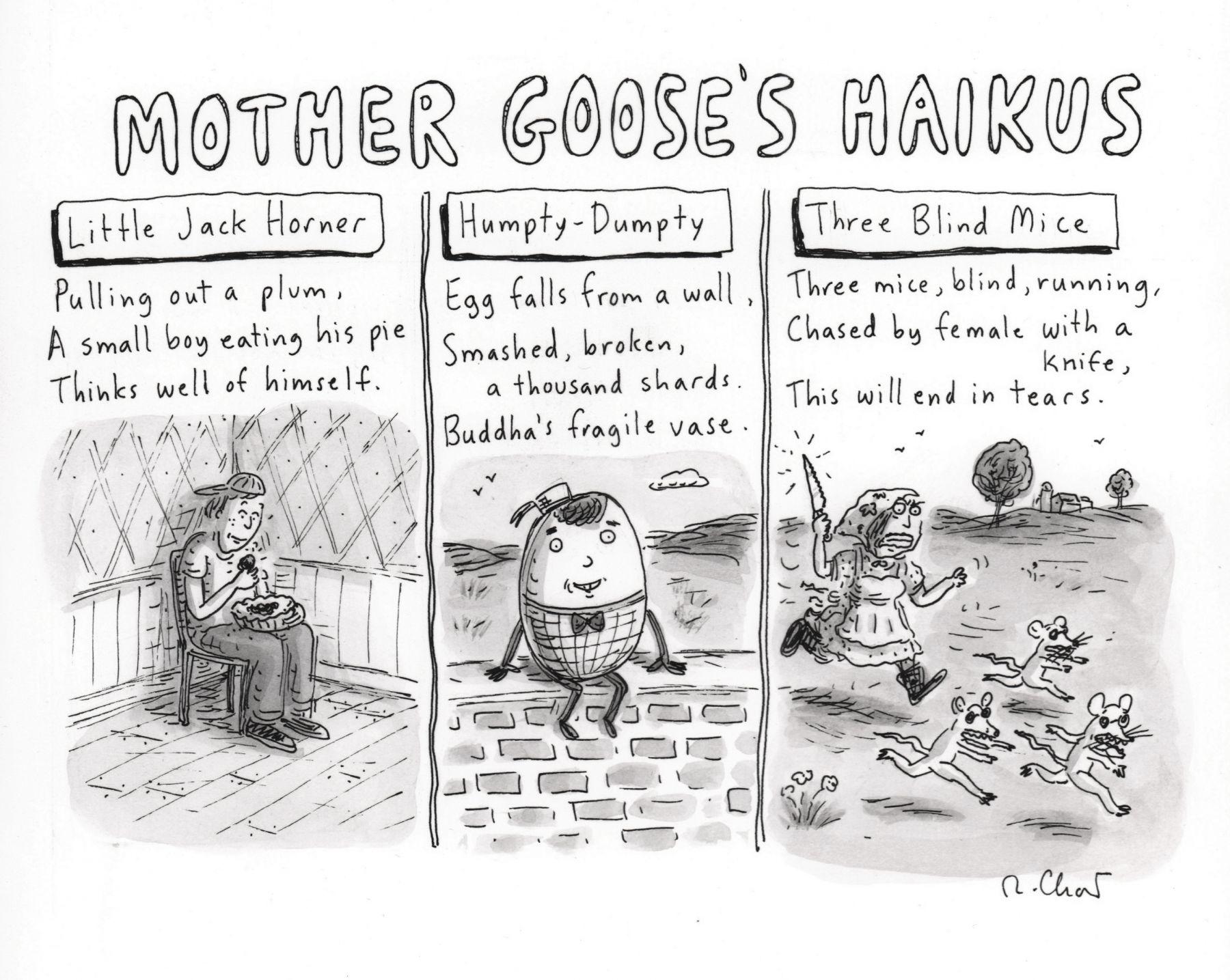 Roz Chast, Mother Goose's Haiku, published November 1, 2010