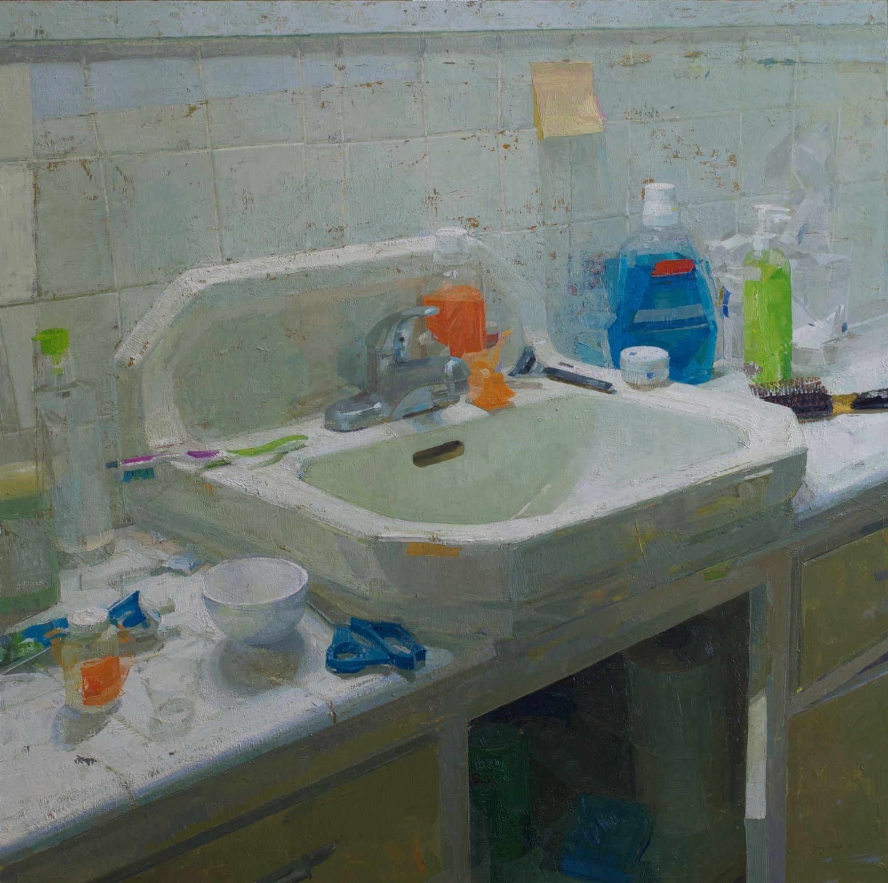 Zoey Frank, Bathroom Sink, 2017