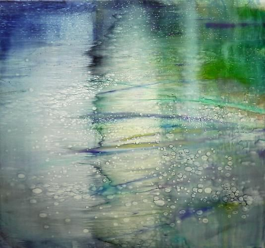 Water Painting 5, 2013,oil on linen,59 x 63 in (150 x 160 cm)