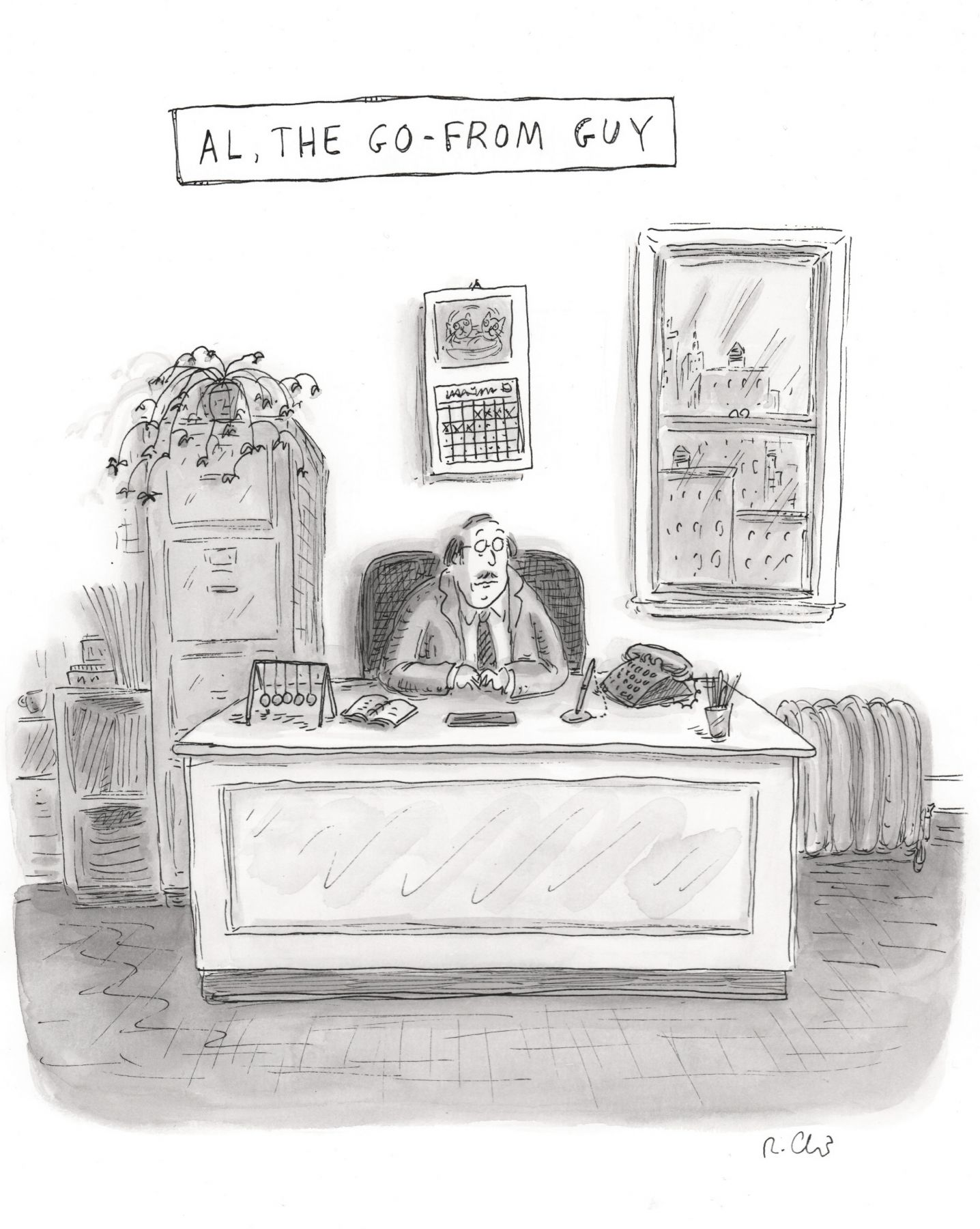 Roz Chast, Al, The Go-From Guy,