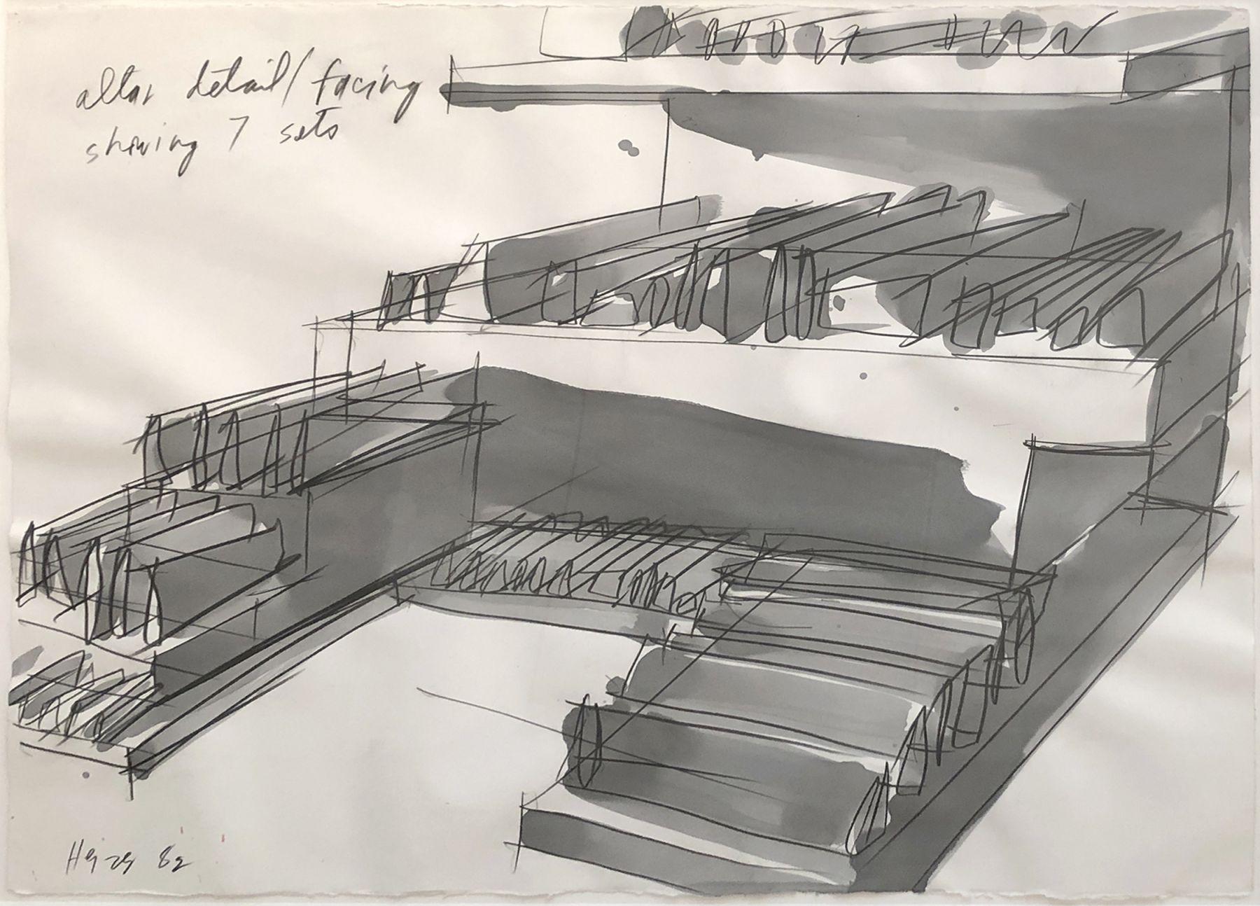 Michael Heizer, Platform