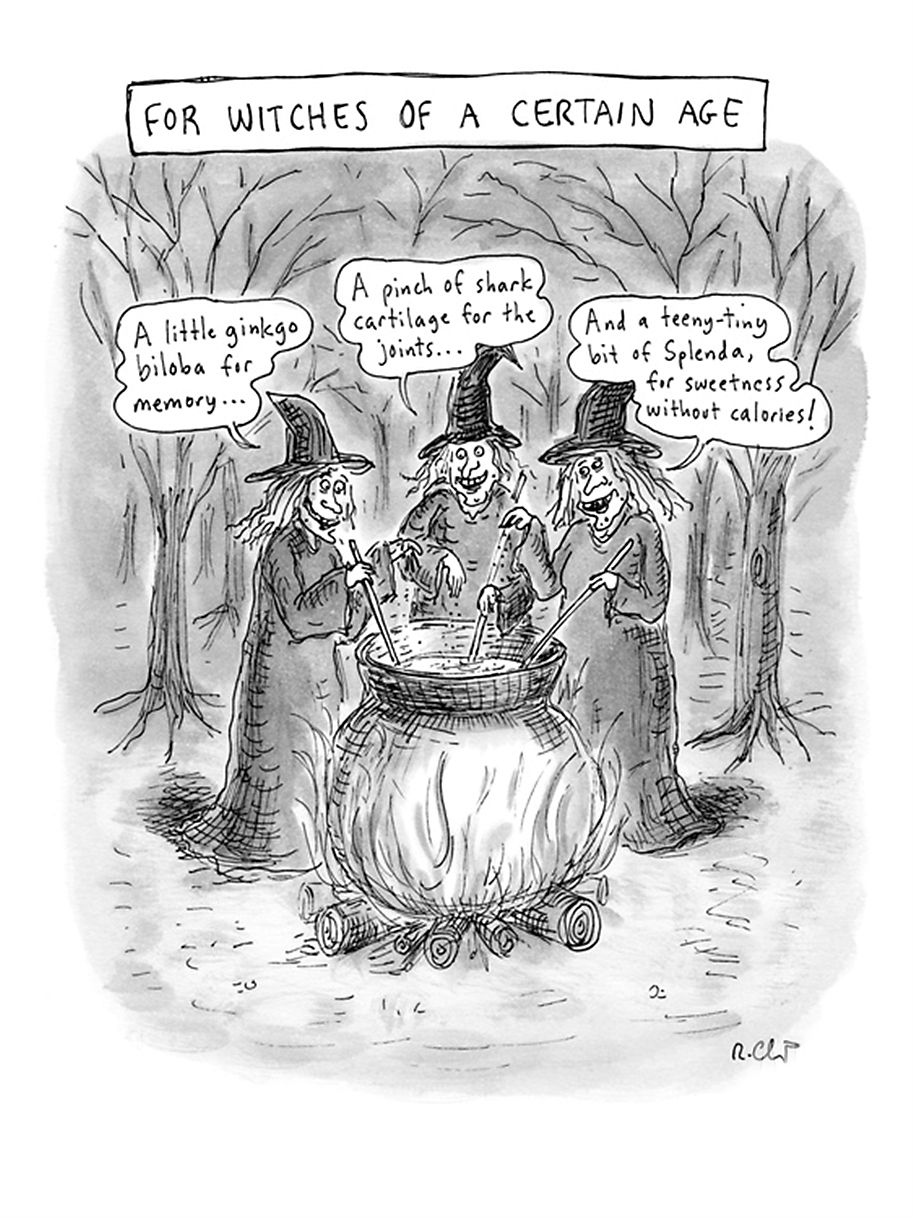 Roz Chast, For Witches of a Certain Age, published October 25, 2010